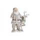 Babbo Natale con cervo in poli bianco (L / A / P)
