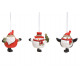 Hanger bell Nikolaus, pupazzo di neve pinguino con