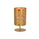 Lanterna in metallo dorato (L / A / P) 13x25x13cm