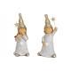Gnome gyermek csillogással, poli-arany kétszeres s