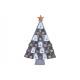Calendario dell'Avvento Albero di Natale in fe