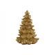Albero di Natale fatto di poli oro (L / H / P) 8x1