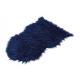 Pelliccia sintetica blu (L / A) 80x50 cm