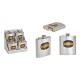 Fiaschetta in acciaio inossidabile argento (L / A
