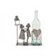 Portabottiglie per coppia bottiglie vino sotto str