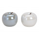 Ceramica bianco mela, grigio 2- volte assortito ,
