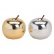 Céramique pomme or, argent 2- fois assorti , (B