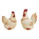 Pollo all'argilla bianca 2- volte assortito ,