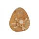 Espositore Uovo in legno di mango, infusione di fi