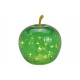 Apple con 20 LED in vetro verde (L / H / P) 16x17x