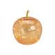 Apple con 20 LED in vetro oro (L / A / P) 16x17x16