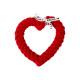 Pamut kötél kutyajáték - Hertha Heart, piros