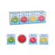 Cool pack, pad refrigerante frutta in plastica mul