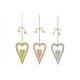 Hanger Heart of Metal Multicolore 3 volte assortit