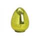 Easter egg gloss optics made of glass green (W / H