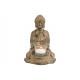 Buddha agyagban, pohár lámpás antik arany (B / H