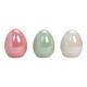 Ceramica multicolore a uovo multicolore a 3 pieghe