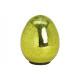 Easter Egg Glass Look Glass Green (B / H / D) 14x2