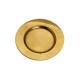 piatti d'oro in plastica, B17 cm