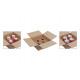 Packaging set cartone di 4 tazza, B31 x H13 x T31