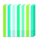 Navy Stripes - 20 3-ply paper napkins 33x33c
