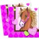 Cavalli - 20 tovaglioli di carta (2 strati) 33x33c