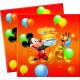 Mickey tovaglioli Balloons - 20 tovaglioli di cart