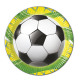 Soccer Celebration - 8 paper plates 23cm