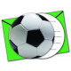 Football PARTY (NEW) - 6 inviti con busta Seals