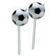 Football PARTY (NEW) - 6 drinking straws with deco