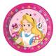 Alice in Wonderland - Paper Plates Large 23cm