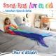 Snug Rug Mermaid Multicolored