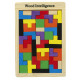 Wooden puzzle jigsaw