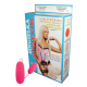 Inflatable doll Divorcee with a vibrator (with 3 h