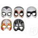 half mask shell superhero mix