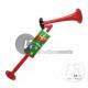 trumpet foghorn with piston 46cm