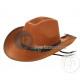 cowboy hat brown felt for child