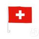 Zwitserse vlag auto