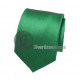 plain tie Green 46cm