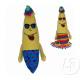 35cm pluche banaan gek