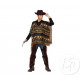 Cowboy costume with man poncho size xl