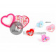 unicorn rings heart child mix 2.5cm