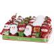confezione regalo e circa 12cm di Natale