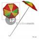 Regenschirm Clown l75cm dia26cm