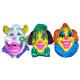 wanddecoratie clown masker 60cm