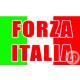 """Forza Italia flag """"70x100 cm"""""""