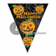 Happy Halloween garland with flags 5m