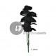 boeket rozen BLACK 6pcs