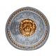 bouclier rond lion 44cm