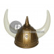 Viking helmet with horns & 2 large tip
